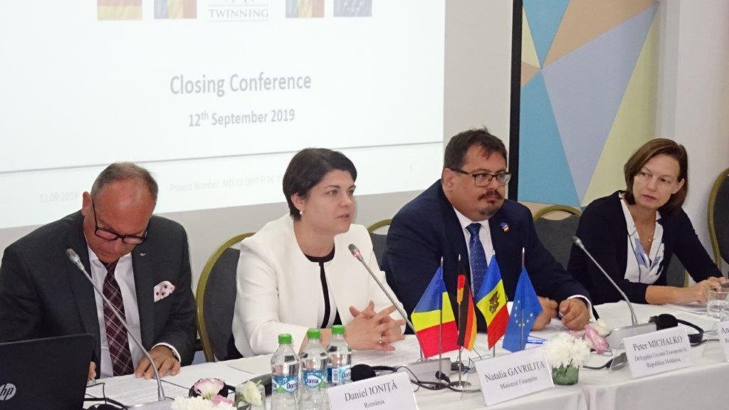 Erfolgreicher Twinning-Projektabschluss in Moldau